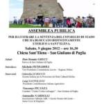 Assemblea Pubblica sabato 9 giugno 2012 Chiesa di Sant'Elena