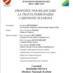 Tratta ferroviaria Carpinone-Sulmona. Proposta di rilancio!