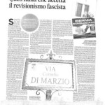 Isernia in pagina nazionale. L'Associaziona PrimaPersona esprime solidarietà all'Anpi