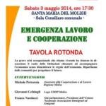 """Tavola Rotonda """"Emergenza Lavoro e Cooperazione"""""""