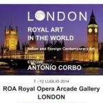 Antonio Corbo artista di Campobasso espone alla Royal Opera Arcade Gallery di Londra