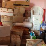 Partenza del materiale raccolto per gli orfanotrofi del Camerun
