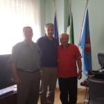 Incontro con il Presidente della Federazione delle Associazioni dei Molisani nel Quebec ed il Presidente dell'Associazione dei Molisani a Montreal