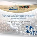 """Evento della Fondazione Scolastica ITS D.E.Mo.S. all'Expò al Padiglione Italia """"Area Scuola"""" Buon segno!"""