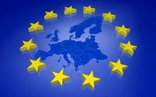 Europa Europe 3D EU Karte Europakarte Europäische Gemeinschaft  Sterne blau Collage European Parliament