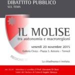 """Dibattito Pubblico sul tema """"Il Molise tra autonomia e macroregioni"""""""