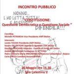 """""""Costituzione e Statuto dei Lavoratori"""" Seminario del 26 maggio 2016"""