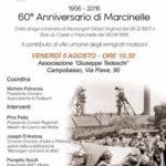1956 – 2016. 60° Anniversario di Marcinelle