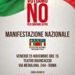 Manifestazione Nazionale in difesa della Costituzione Italiana