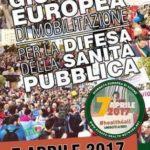 Mozione di adesione alla giornata europea di mobilitazione per la difesa della sanità pubblica