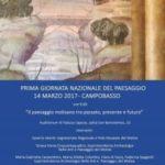 Prima Giornata Nazionale del Paesaggio 14 marzo 2017 – Campobasso