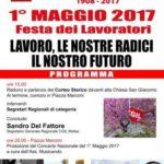1° Maggio 2017 – Festa dei Lavoratori