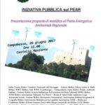 Messaggio di Italia Nostra Nazionale per l'iniziativa pubblica sul PEAR al Castello Monforte a Campobasso