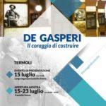 A Termoli importante evento su De Gasperi