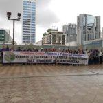 Doppia manifestazione a Napoli e Benevento per dire no alla discarica di Sassinoro
