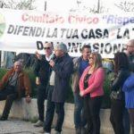 A Napoli per dire No alla discarica di rifiuti a Sassinoro