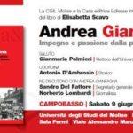 Andrea Gianfagna: Impegno e passione dalla parte del lavoro