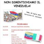 Non dimentichiamo il Venezuela!