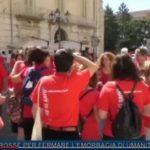 TLT Molise del 07.07.2018 – Magliette rosse per fermare l'emorragia di umanità