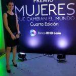 "Premios ""Mujeres Que Cambian El Mundo"". Nota di apprezzamento"