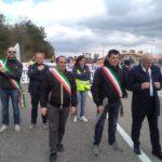 Manifestazione in difesa della Valle del Tammaro e del Parco del Matese – Sassinoro 27.10.2018