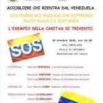Accogliamo chi rientra dal Venezuela
