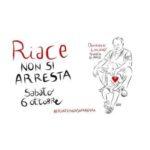 Manifestazione sabato 6 ottobre #riacenonsiarresta