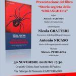 """Presentazione del libro """"Storia segreta della 'Ndrangheta"""""""