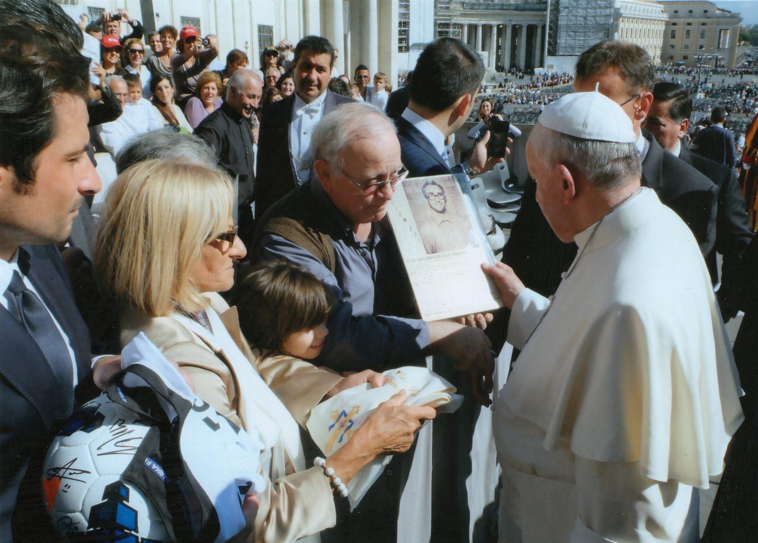 Udienza Papa Francesco 16.10.2013