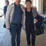 Montevideo (Uruguay). Michele Petraroia con Filomena Narducci, di Santa Maria del Molise
