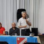 Consegna riconoscimenti al Presidente, Giuseppe Petrone, e alla Direttrice, Nuccia Sassone, del Centro Molisano Monforte