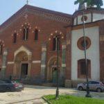Milano 25.08.2019 Chiesa di Sant'Eustorgio