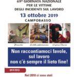 69ª Giornata Nazionale per le Vittime degli Incidenti sul Lavoro