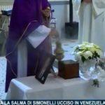 Telemolise del 6.12.2019 – Toro, rientrata la salma di Simonelli ucciso in Venezuela: oggi i funerali