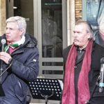 Ancona 26 gennaio 2020 – Binario 1 ovest della Stazione manifestazioni per la Giornata della Memoria. Mai più Auschwitz!