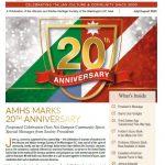 20° anniversario dell'Associazione Abruzzo e Molise di Washington DC. Nota