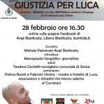 """""""Giustizia per Luca"""""""