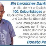 Donato Pollice. Esempio e testimone degli italiani nel Mondo
